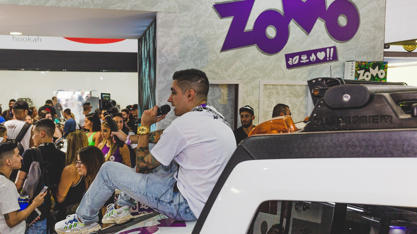 ZOMO AT EXPO HOOKAH BRAZIL 2020