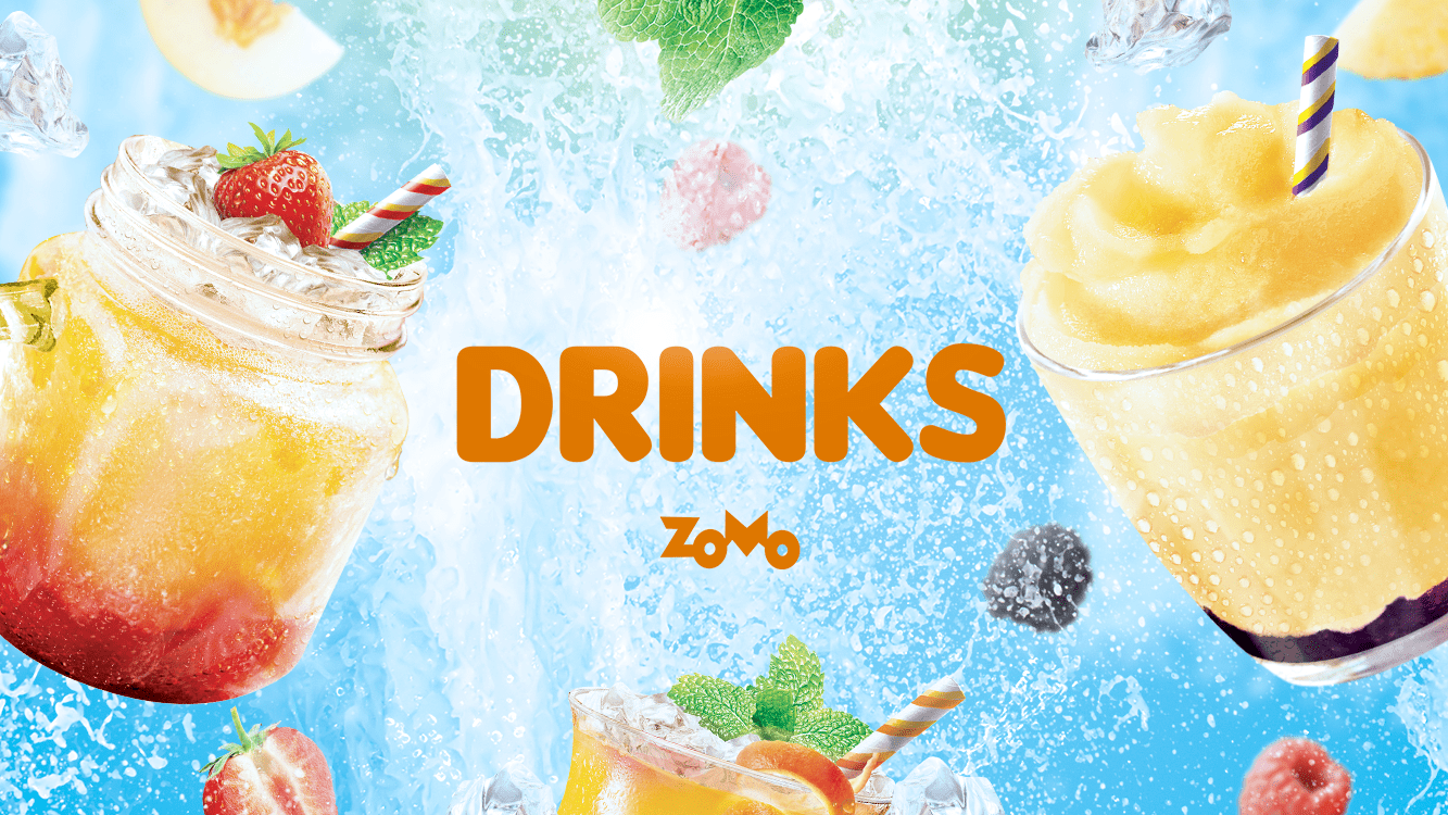 ZOMO IS LAUCHING A DRINKS LINE
