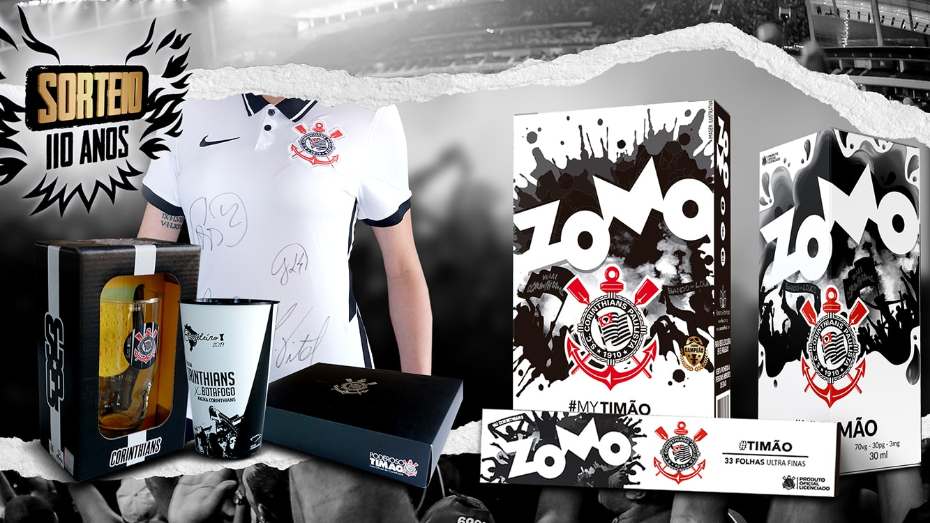 Zomo holds raffle to celebrate Corinthians's, football team, birthday