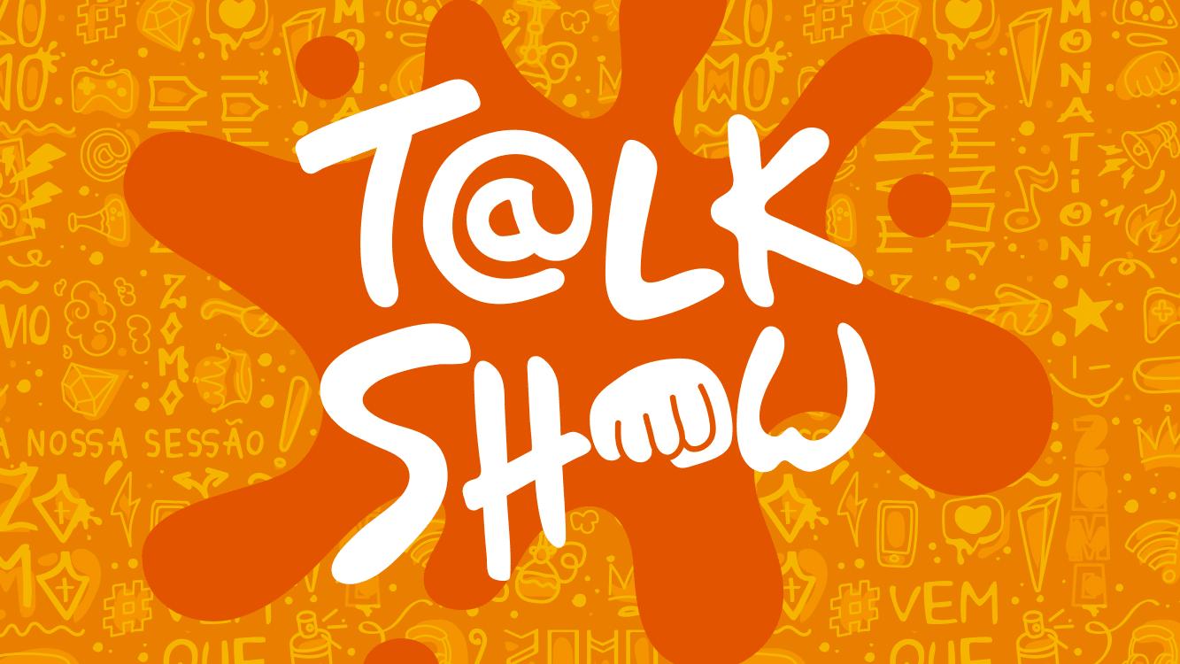 banner laranjado talk show zomo official