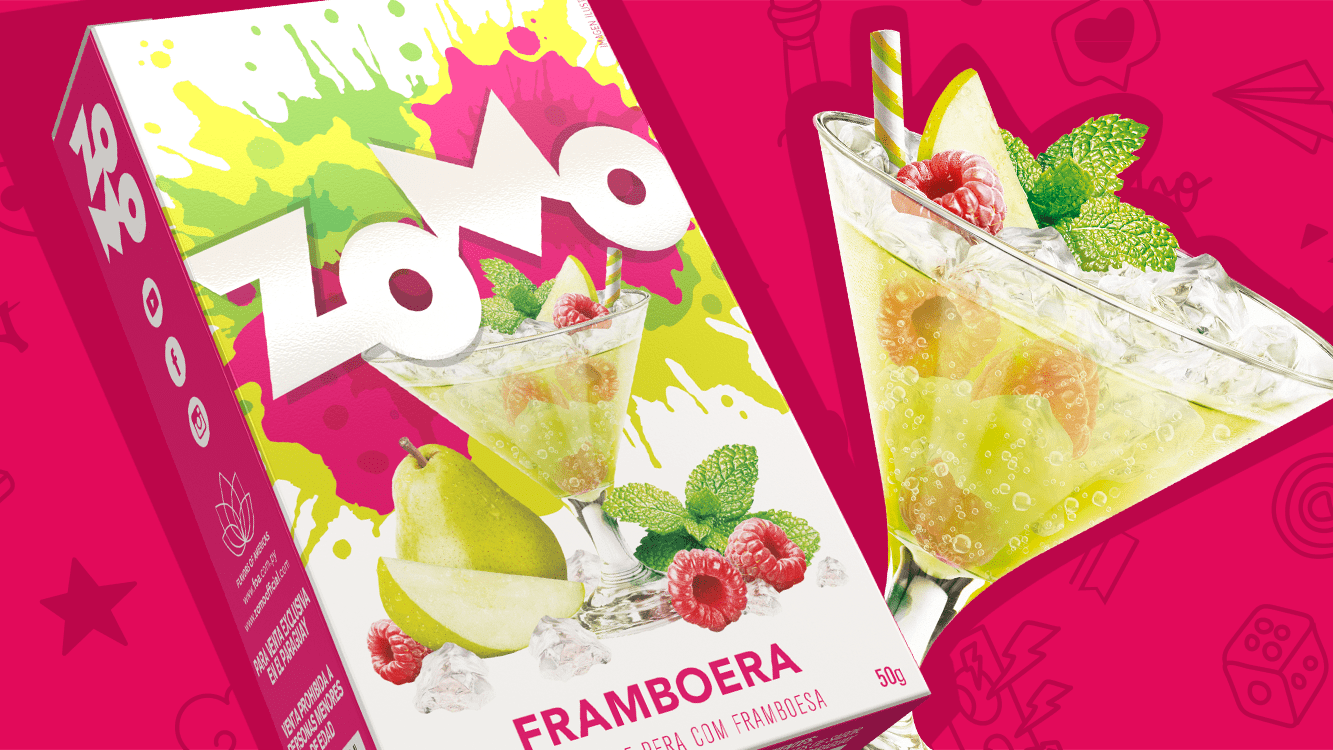 The Drinks line has grown with 'Framboera', our new flavor