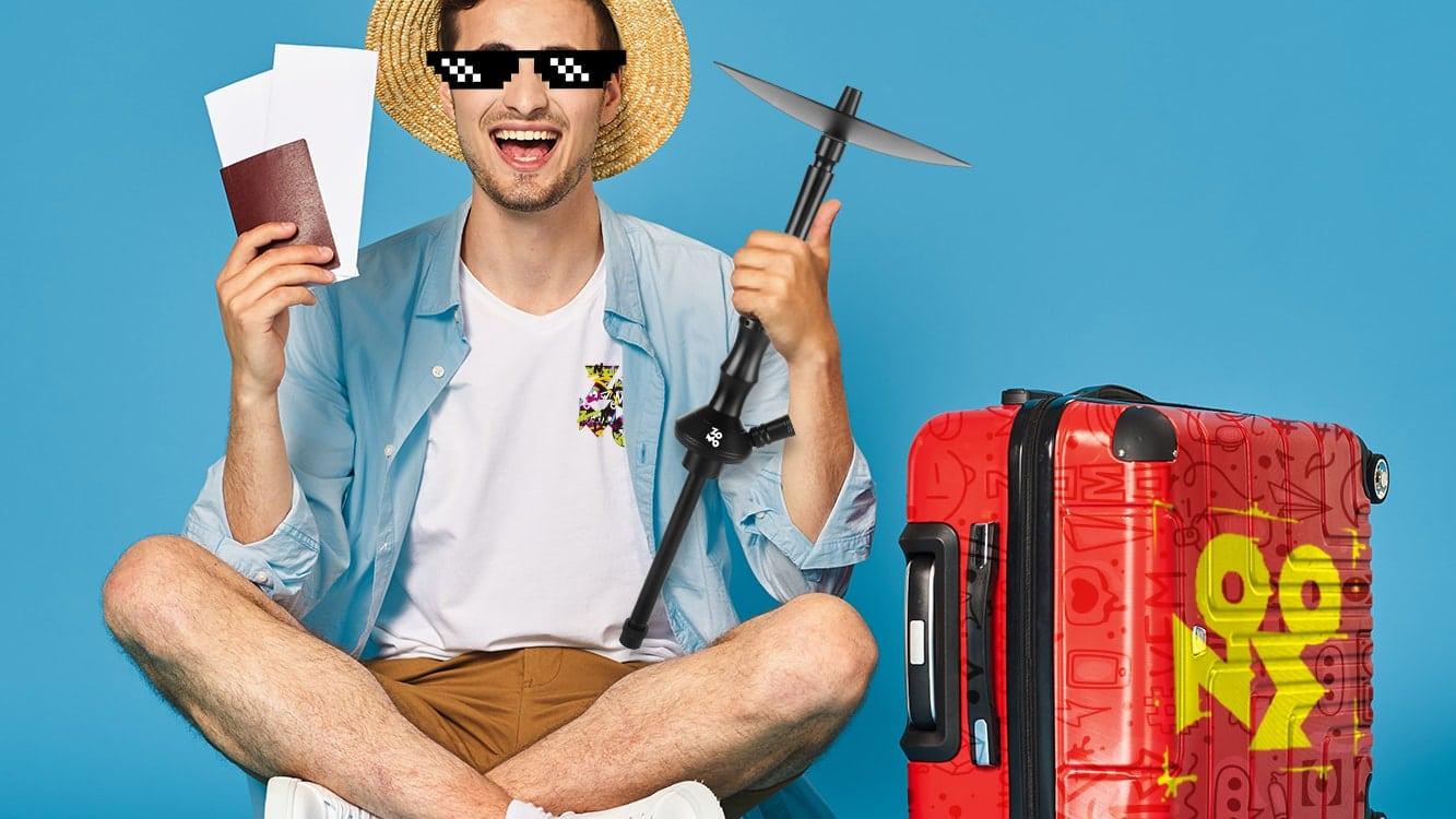 Как перевозить кальян в поездках?