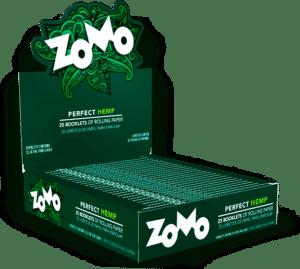 caixa display hempou verde zomo paper