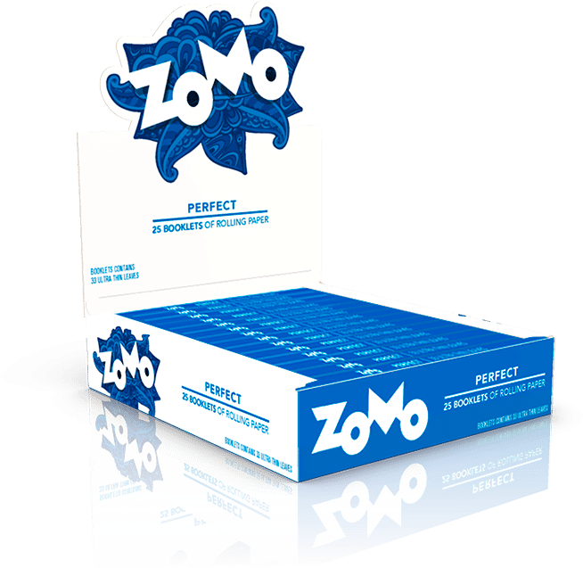 display zomo paper azul classico
